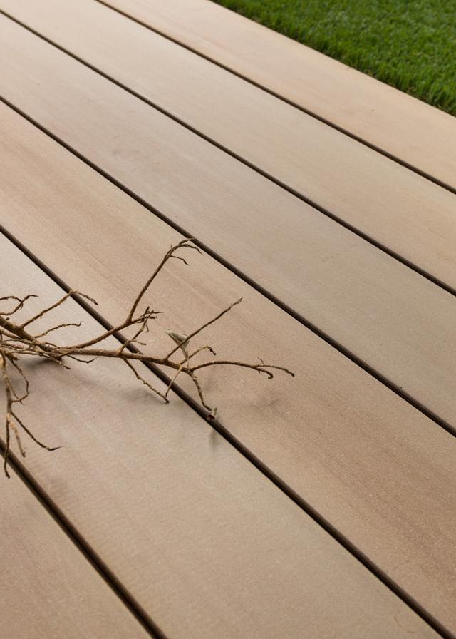 Terrasse en bois la parqueterie nouvelle - Lame composite clipsable ...