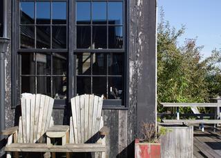 bardage vieux bois noir la parqueterie nouvelle. Black Bedroom Furniture Sets. Home Design Ideas