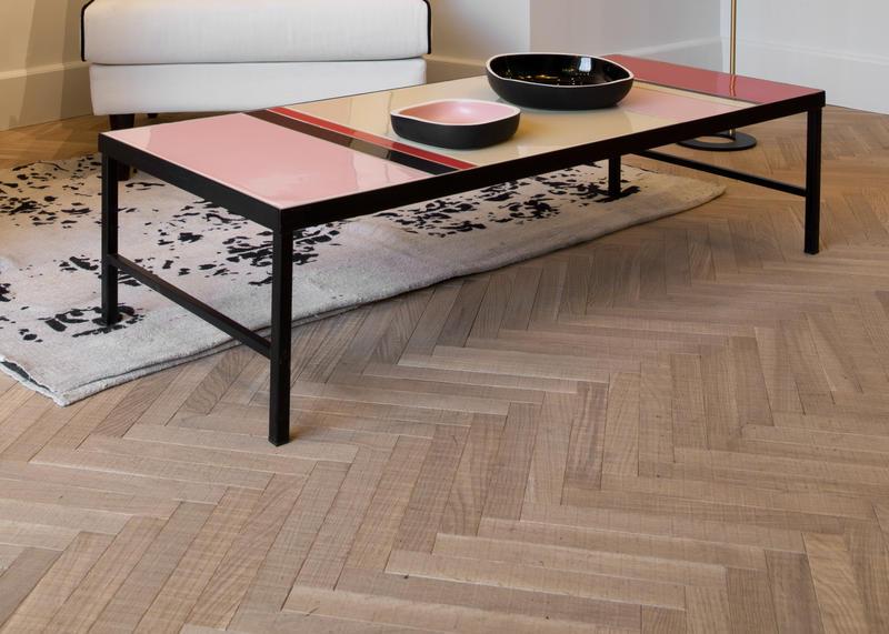 baton rompu effet bois brut la parqueterie nouvelle. Black Bedroom Furniture Sets. Home Design Ideas