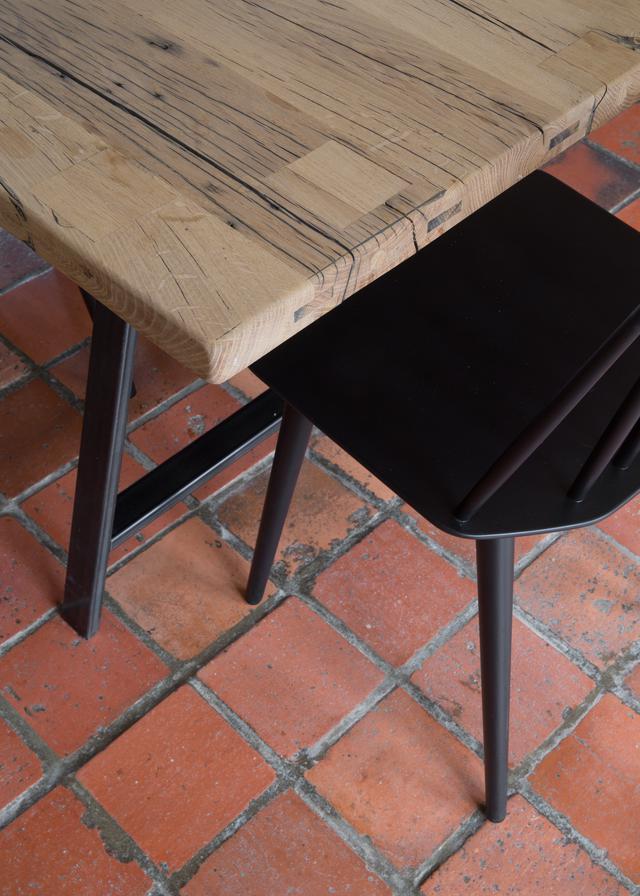 Tables Sur Mesure En Bois Ancien La Parqueterie Nouvelle
