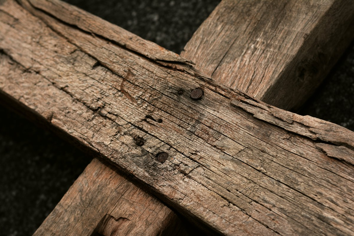 Parquet en bois de récupération